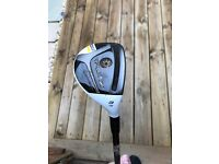 Taylormade rbz driver tour 9 and stage 2 rescue club