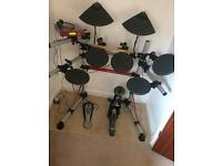 Yamaha DTXPRESS III pro grade electronic drum kit.