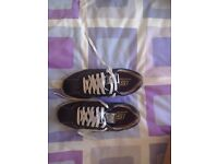 Brand new sketchers black trainers size 6