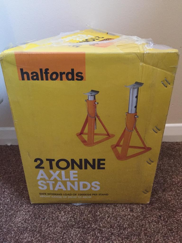 2 tonne axel stands