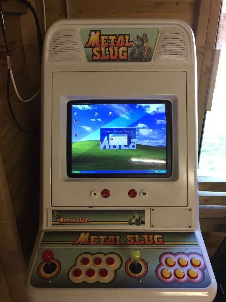 MAME Arcade Machine - Touch Screen on XP over 7000 retro games ...
