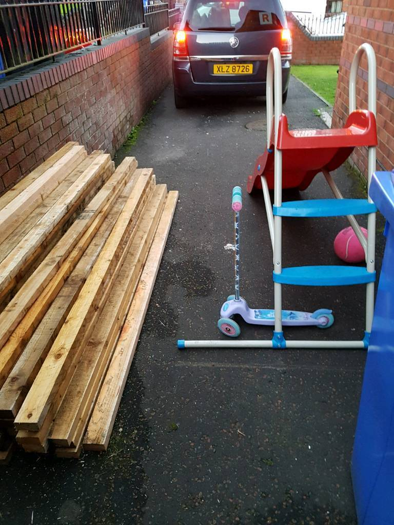8ft 3x2 lengths of timber great for sheds fences garden furniture dog runs etc