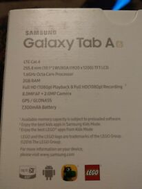 Tablet; Samsung Galaxy Tab A - 16Gig - 255.4mm - Black - BRAND NEW