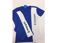 T shirts and short sets mens and kids sizes