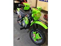 NEW KIDS 6V MINI RIDE ON ELECTRIC MOTORBIKE! WITH LIGHTS!