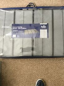 Royal luxury awning carpet 240 x 390