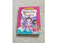 Make Your Own Ballerina Theatre Book - Brand New, SPFH