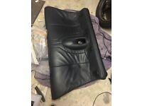 Rear dark blue full leather seats for Mini Cooper convertible (R52) - MINT