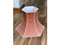 Large lampshade in perfect condition.