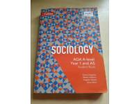 Used, Sociology AQA A-level Year 1 and AS Student Book for sale  Bridgwater, Somerset
