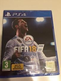 Brand new sealed Fifa 18 PS4