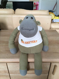 Limited edition large Tetley's Monkey stuffed toy