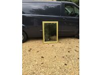 Gold coloured edged Mirror