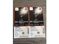 Ed Sheeran Tickets Wembley 17/6 and hotel