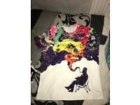 Men Galaxy Print Tshirt