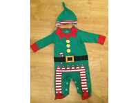 Unisex NEXT Elf outfit, up to 3 months, only worn twice