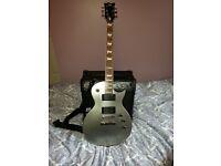 ESP Ltd EC-330 Titanium Electric Guitar