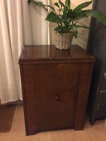 Vintage wooden cabinet / sewing cabinet