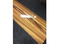 High gloss laminate flooring