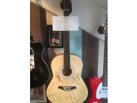 Rolling Stones Signed Acoustic Guitar - Jagger, Richards, Wood and Watts