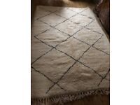 Large stunning Beni Ourain rug for sale.