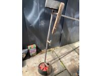 Stainless steel Boat launch trailer