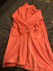 Ladies pink 18/20 dressing gown