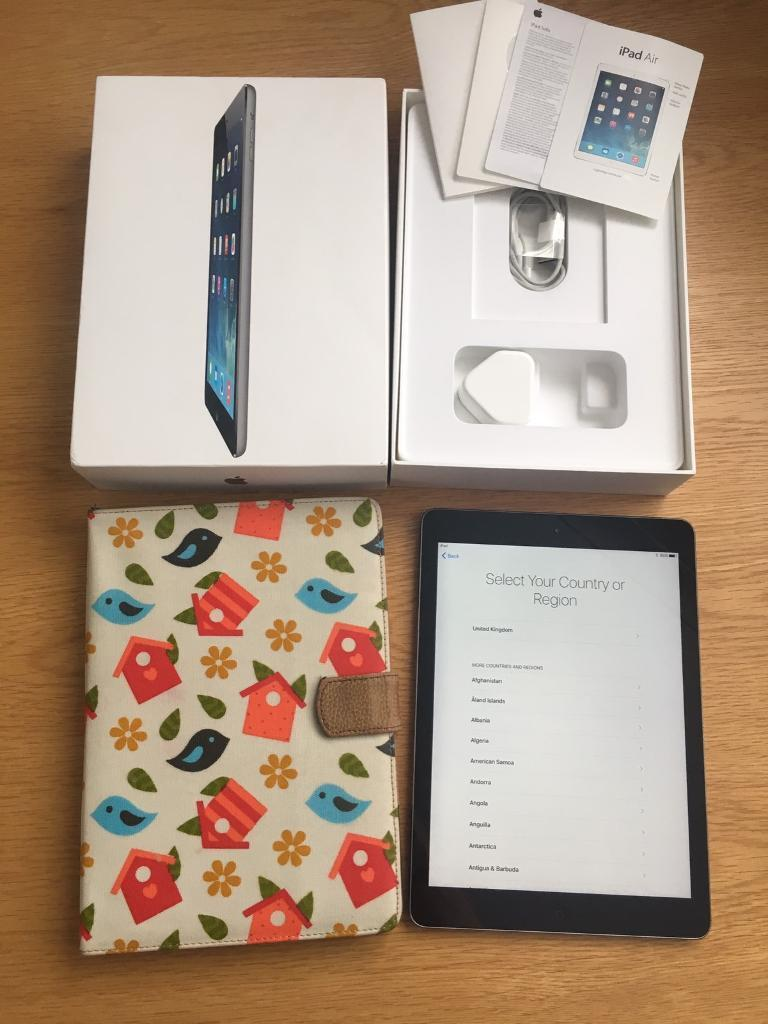 iPad Air 64GB space grey200onoin Hull, East YorkshireGumtree - iPad Air 64GB in excellent condition. Has always had a screen protector and a case on. Includes box, charger, booklets and a case. Any questions please ask. £200 Ono