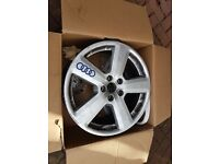 AUDI /VW/ SKODA ALLOY WHEELS 18""