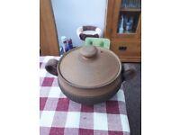 Denby pottery casserole dish