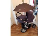 Quinny Buzz Complete Travel System Including Carry Cot, Pram & Accessories - Very Good Condition