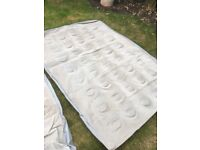 Quechua Inflatable Double Mattress. Two Available.
