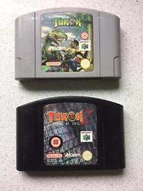 Nintendo 64 games. N64