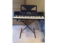 Yamaha Portatone Electinic Keyboard and stand