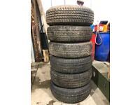 245/70r16 tyres x6