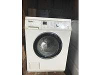 Miele washing machine and condensing tumble dryer