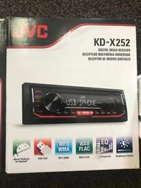 Brand new JVc KD X252 Stereo
