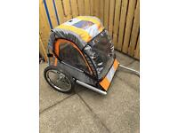 Bike buggy trailer