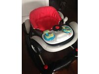 Super cool car baby walker perfect condition