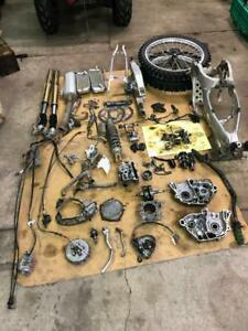 2008 Kawasaki kx250f complete part out