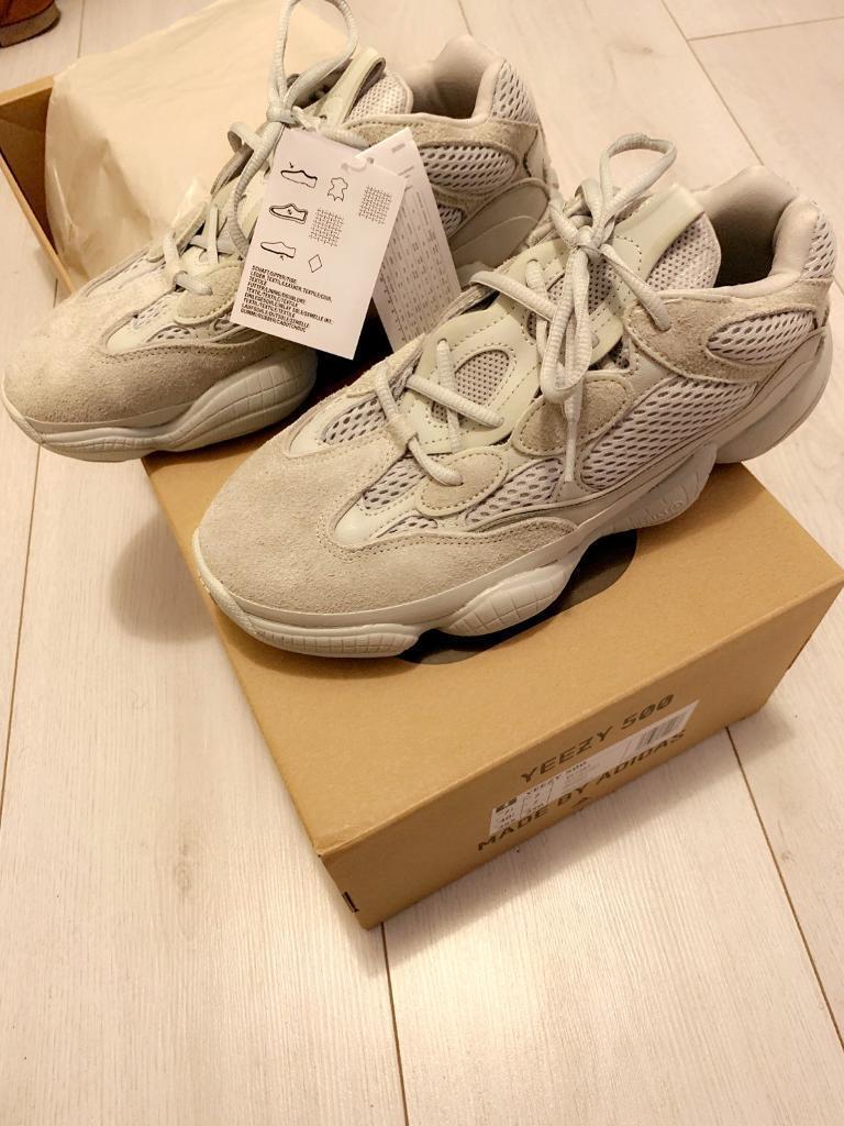 ba4b1b464 Adidas Yeezy 500 - Salt Size 7