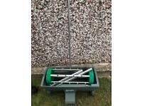 Grass garden aerator