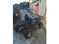 Hammerhead offroad buggy and trailer