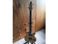 1983 Alembic Spoiler 32' scale with new Mono Gigbag