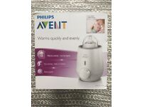 Philips Avent electric bottle warmer boxed