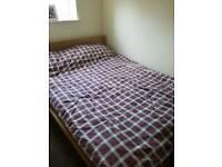 Malm Bed and Mattress