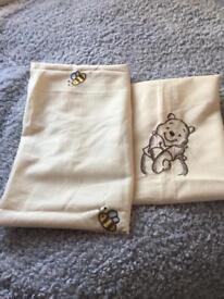 Winnie Pooh curtains