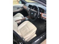 BMW 730D 10 MONTHS MOT SERVICE HISTORY STUNNING CAR BLACK WITH CREAM LEATHER