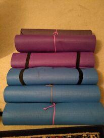 6 Yoga mats - £5 per mat or £30 for all 6