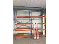 Brand new 2 bay pallet racking link 51/ kaiser style, pallet racks 24 shelf